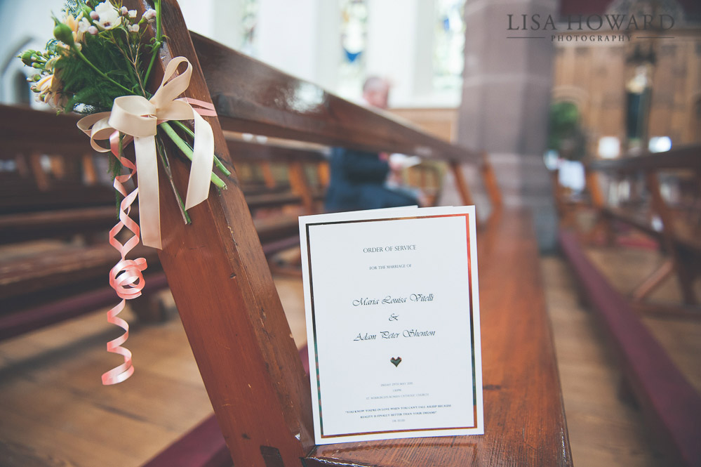 St Werburghs Church Wedding