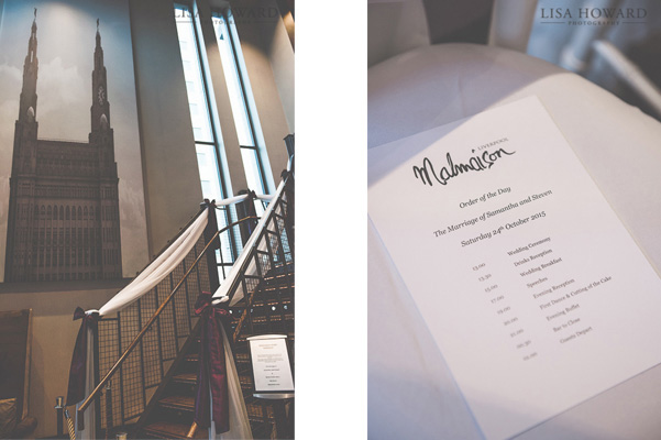 Malmaison Liverpool Wedding