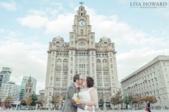 Wedding photos Liver building