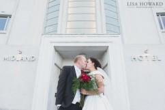 Midland Hotel Morecambe Wedding photographer